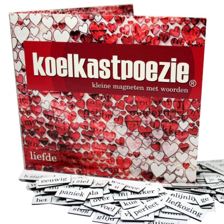 Afbeelding van het spelletje Koelkastpoëzie Liefde