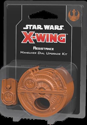 Afbeelding van het spel Star Wars X-Wing 2.0 - Resistance Maneuver Dial Upgrade Kit