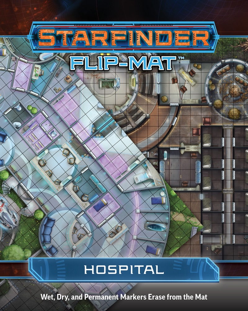 Afbeelding van het spel Starfinder Flip-Mat: Hospital