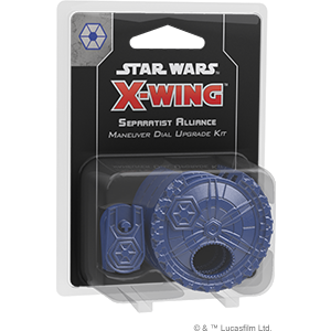 Afbeelding van het spel Star Wars X-Wing 2.0 - Separatist Alliance Maneuver Dial Upgrade Kit