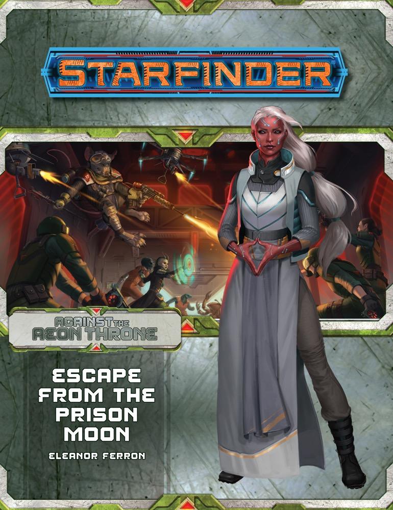Afbeelding van het spel Starfinder Adventure Path 8: Escape from the Prison Moon (Against The Aeon Throne 2/3)