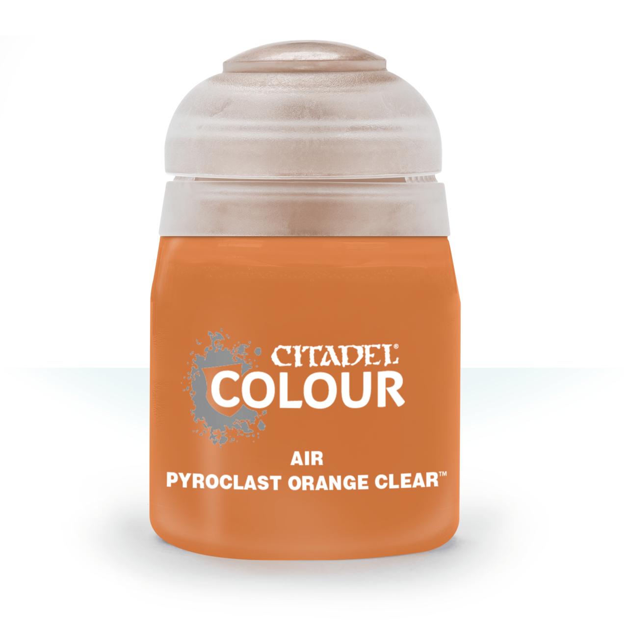 Afbeelding van het spel Pyroclast Orange Clear - Air (Citadel)